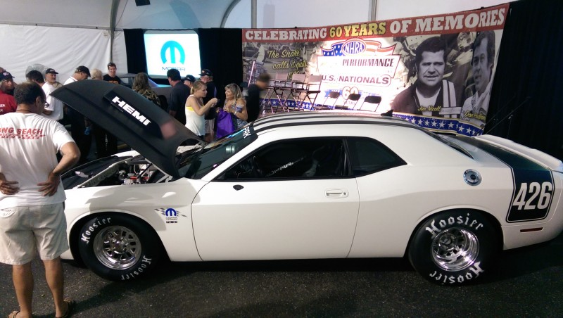 Mopar keeps the factory in drag racing with Drag Pak Dodge