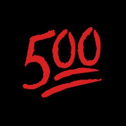 Emoji 500