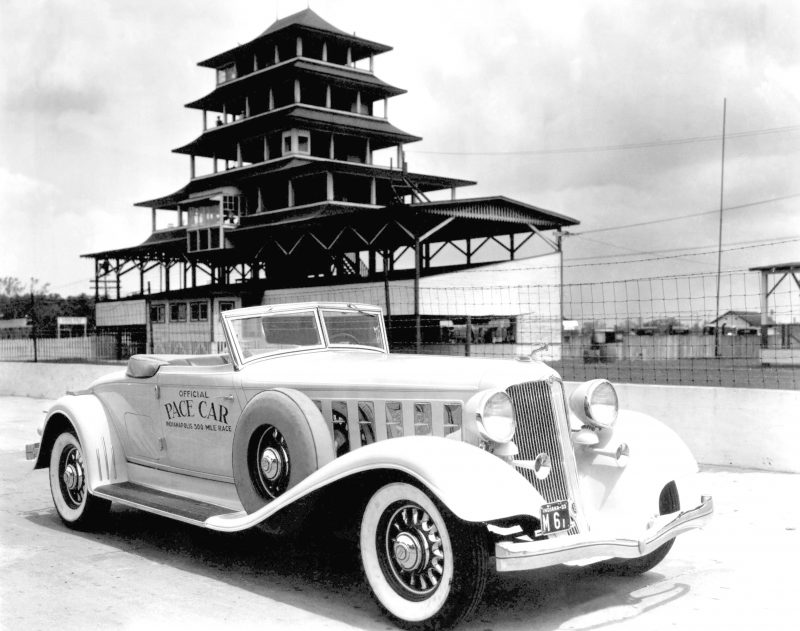 1933 Imperial. Official pace car of the 1933 Indianapolis 500.