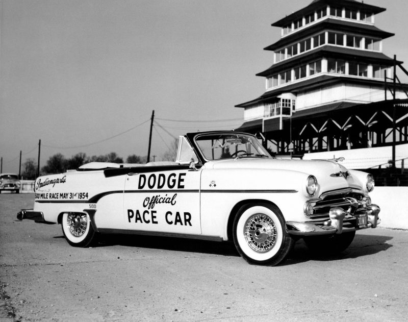 1954 Dodge Royal. Official pace car of the 1954 Indianapolis 500.