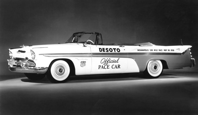 1956 DeSoto Fireflite. Official pace car of the 1956 Indianapolis 500.