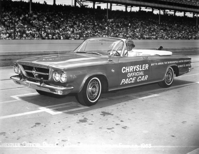 1963 Chrysler 300. Official pace car of the 1963 Indianapolis 500.