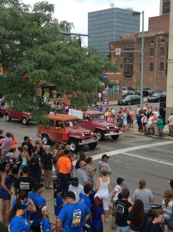Toledo Jeep Fest Parade