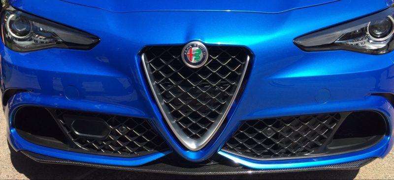 "Alfa Romeo Giulia with ""Trilobo"" front."