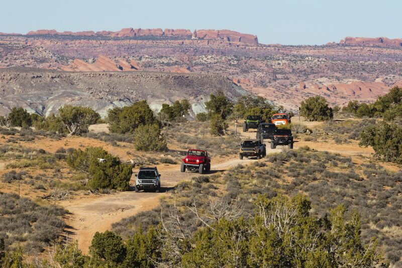 On the trail at the 2016 Moab Easter Jeep® Safari