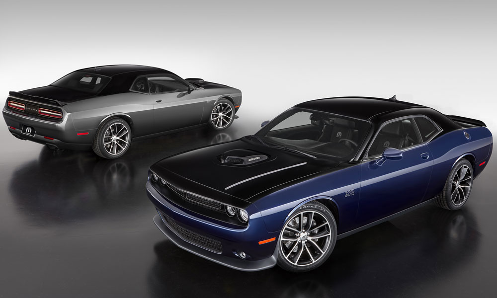 Production of the Mopar '17 Challenger is limited to 80 units of each color scheme.