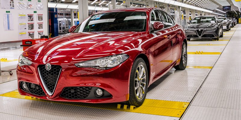 Alfa Romeo Giulia in the Cassino Assembly Plant