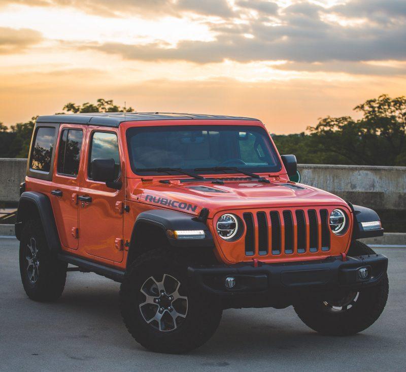 Jeep Orange Color