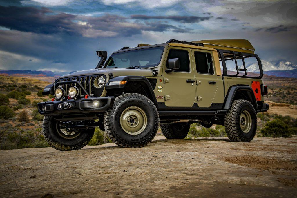 2020 Jeep Gladiator Pickup Truck Dominates 2019 Easter