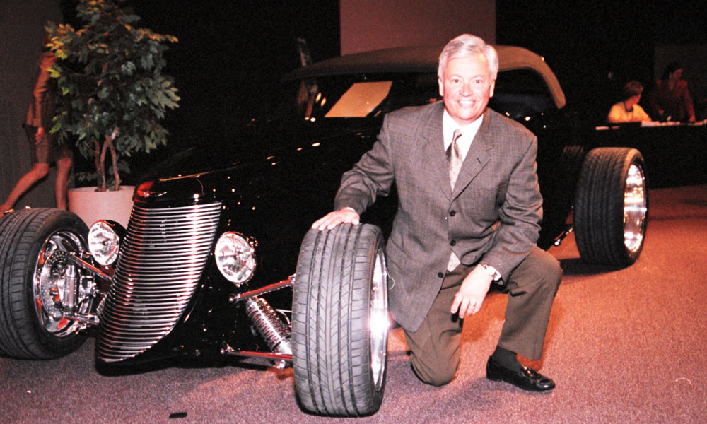 "Tom Gale's design teams produced the ""Cab Forward"" LX sedans, as well as the Dodge Viper and Plymouth Prowler."