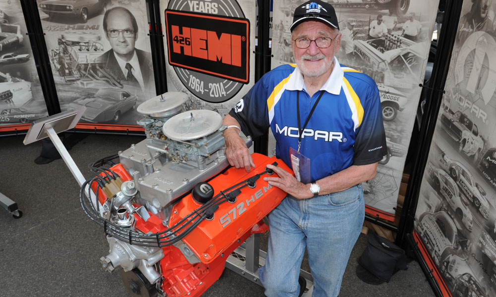 Tom Hoover, regarded as the father of the HEMI® engine.